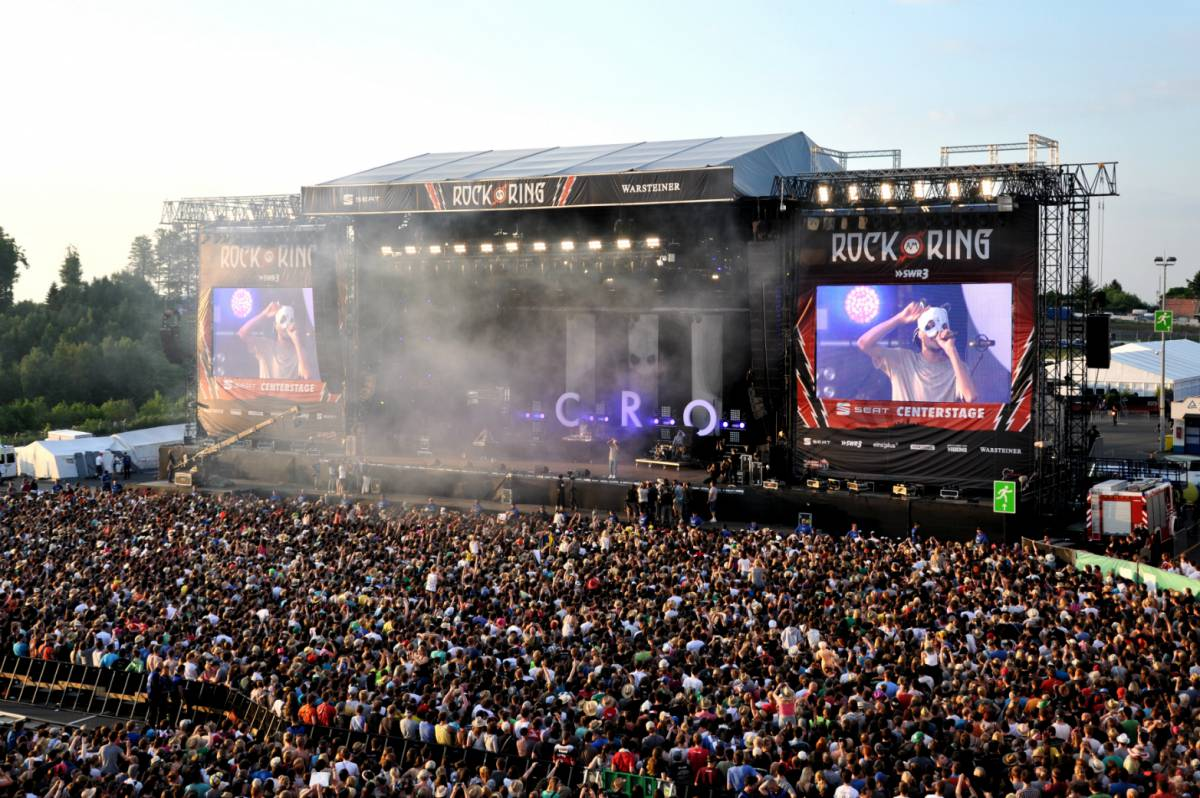 Rock am Ring Festival am Nürburg Ring